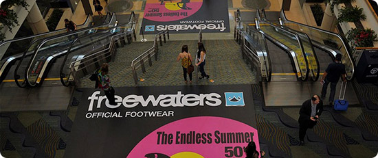 retail event graphics floors