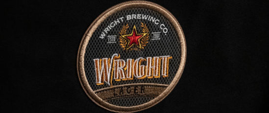 Wright Lager Embroidered Label 2 e1542386967343