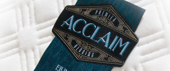 Acclaim Woven Diecut Label